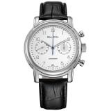 海鸥(SeaGull)手表 计时码表系列机械男表 休闲运动多功能男士手表 D819.629白盘 2469元