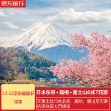 天津-日本东京+箱根+富士山6天5晚跟团游(直飞往返+1晚日式温泉酒店) 4099元/人