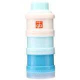 gb好孩子三层奶粉盒(魅力蓝) 奶粉储存盒 *5件 115元(合23元/件)
