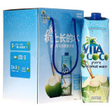 唯他可可(Vita Coco)天然椰子水进口NFC果汁饮料 1L*4瓶 整箱22.5元 22.50