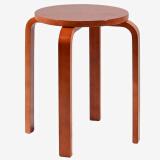 施豪特斯(SHTS)凳子 餐凳曲木凳餐椅ST-9821 蜜糖色 *3件 107元(合35.67元/件)