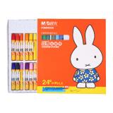晨光(M&G)FGM90058米菲卡通丝滑油画棒蜡笔绘画笔24色/盒 *3件 19.95元(合6.65元/件)