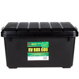 IRIS 爱丽思 RV600 汽车收纳箱储物箱 黑色 40L *5件