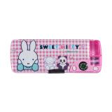 晨光(M&G)文具米菲系列粉色多功能双层笔盒文具盒 单个装 14.50