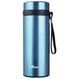 华亚(WAYA)不锈钢保温杯大容量带过滤网便携水杯HX-850-5S商务车载休闲杯蓝色850ml*2件 116元(合58元/件)