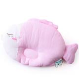 PurCotton 全棉时代 小鱼款 婴幼儿定型枕头 粉白格 58.8元