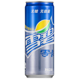 雪碧 Sprite 零卡 无糖零卡 汽水 碳酸饮料 330ml*24罐 整箱装 可口可乐公司出品 新老包装随机发货 31元