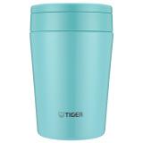 Tiger/虎牌不锈钢保温杯大口汤粥杯MCL-A38C 380ML 薄荷蓝AM *3件 417.9元(合139.3元/件)
