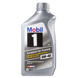 Mobil 美孚 1号 0W-40 SN 全合成机油 1QT *12件