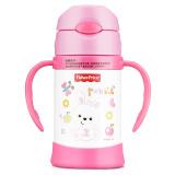 美国费雪婴儿童吸管杯 宝宝学饮杯保温喝水壶训练杯子300ML 粉红 *4件 239.6元(合 59.9元/件)