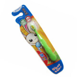 SANXIAO 三笑 快乐小天才儿童 牙刷 快乐兔 2岁以上 1.1元