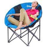 康尔 KingCamp 懒人椅 折叠椅 午睡椅 户外居家两用 圆形加棉舒适 商场同款KC3816宝蓝 97元
