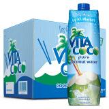 限地区:VITA COCO 唯他可可 天然椰子水进口NFC果汁饮料 1L*12瓶 85元
