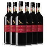WolfBlass 纷赋 红牌设拉子歌海娜干红葡萄酒 750ml*6瓶 *2件 334.88元暴雨(双重优惠,合167.44元/件)