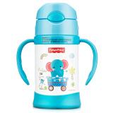 美国费雪婴儿童吸管杯 宝宝学饮杯保温喝水壶训练杯子300ML 蓝色 *3件 179.7元(合 59.9元/件)