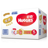 HUGGIES 好奇 金装 婴儿纸尿裤 XL号 105片 *2件 336元(合 168元/件)