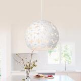 nvc-lighting 雷士照明 EXDD1045 塞伊丝 圆形象牙白餐吊灯 157元包邮(需用券)