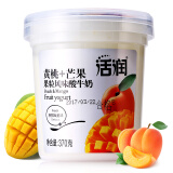 活润 新希望大果粒 黄桃+芒果风味酸奶 370g5.75元 5.75