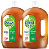 滴露Dettol 消毒液 1.8L*2 瓶 *2件 198.56元包邮(合99.28元/件)