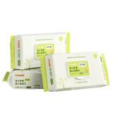 康贝(Combi)728179 Combi手口专用婴儿柔湿巾(竹纤维)(80片*3包)加盖纸巾 18.75元