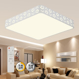 海德照明(HAIDE) 雪花 LED客厅吸顶灯 55W 方形 149元