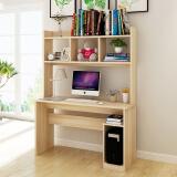 朗程简约台式电脑桌 书桌办公学习桌子带书架 *3件 597元(合 199元/件)