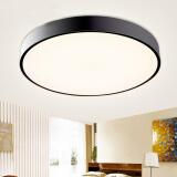 雷士照明(nvc-lighting) led吸顶灯 简黑 36W 399元