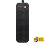 声缪斯(SONMUSE)SF-TC8NB 守护大师 8位总控排插/接线板 *3件 79.7元(双重优惠,合26.6元/件) 26.6元