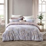 LOVO罗莱生活出品 四件套纯棉全棉床品套件床上用品床单被套 220*240cm 素缕拾光 299元