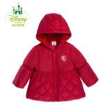PLUS会员:迪士尼(Disney) 154S732 女童连帽 棉服 *3件 174.69