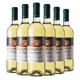张裕新疆葡园干白葡萄酒750ml*6瓶 果味和酸度完美平衡