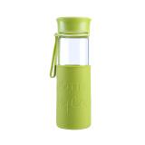 乐扣乐扣(lock&lock)硅胶杯套耐热玻璃水杯MyBottle MyColor绿色LLG673MG *3件 123.9元(合41.3元/件)