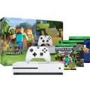 微软 Xbox One S 游戏主机 500G 我的世界同捆套装 下单送极限竞速5 京东直降400元¥1699元