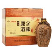 塔牌绍兴黄酒2009年冬酿原酒花雕酒半干型1.5L*2瓶礼盒装